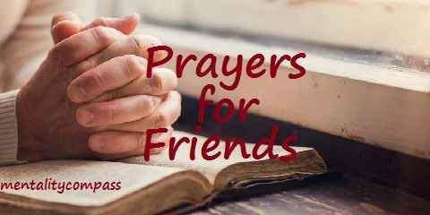 prayer for friend