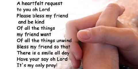 prayer of encouragement for a friend struggling going through hard times